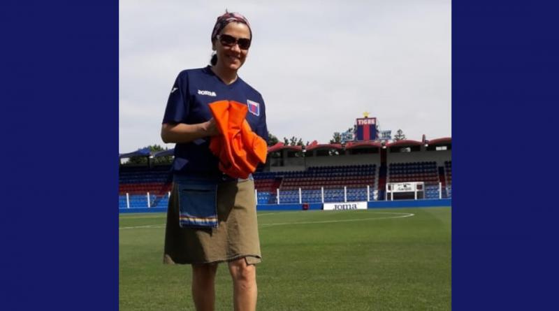 """Dina González: """"En el corazón del Feminismo hay que pintar una pelota"""""""
